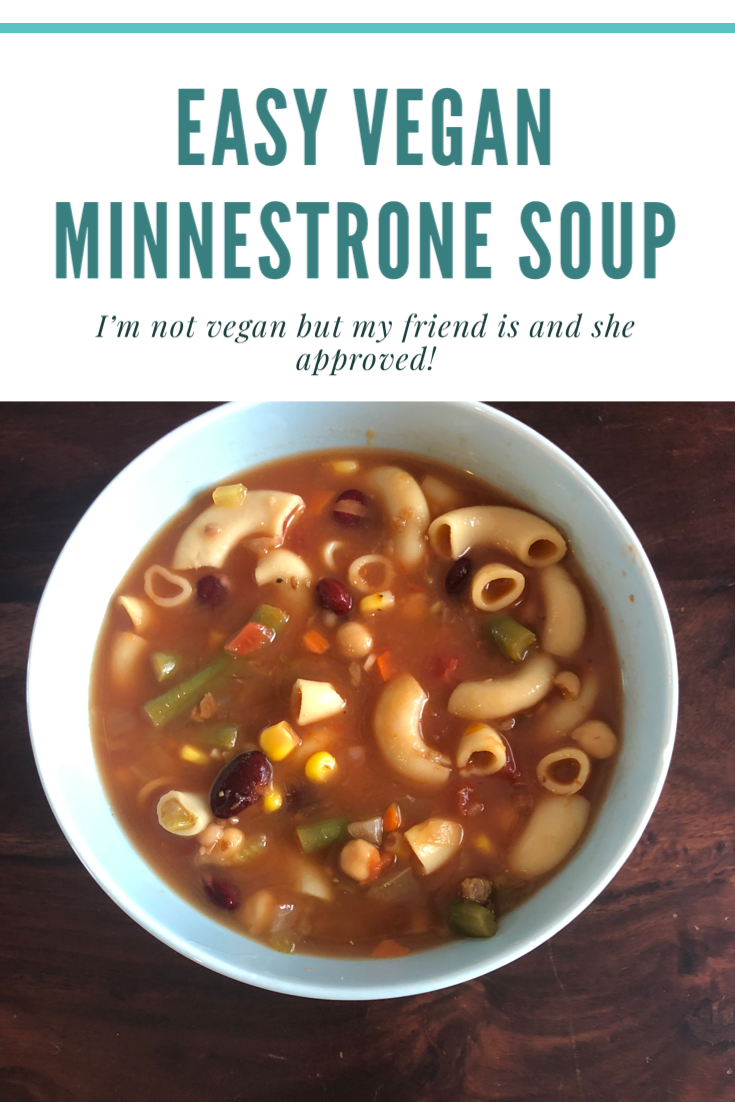 Vegan Minestrone Soup by BB
