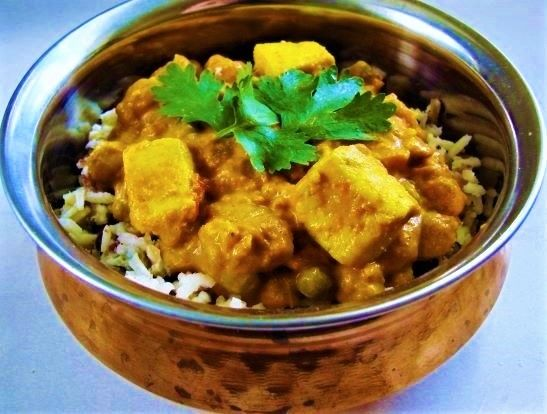 Making this for Tuesday's Dinner.                               Chana Matar Paneer ~ Possessd by the Holiday Spirit — The Sixpence at Her Feet