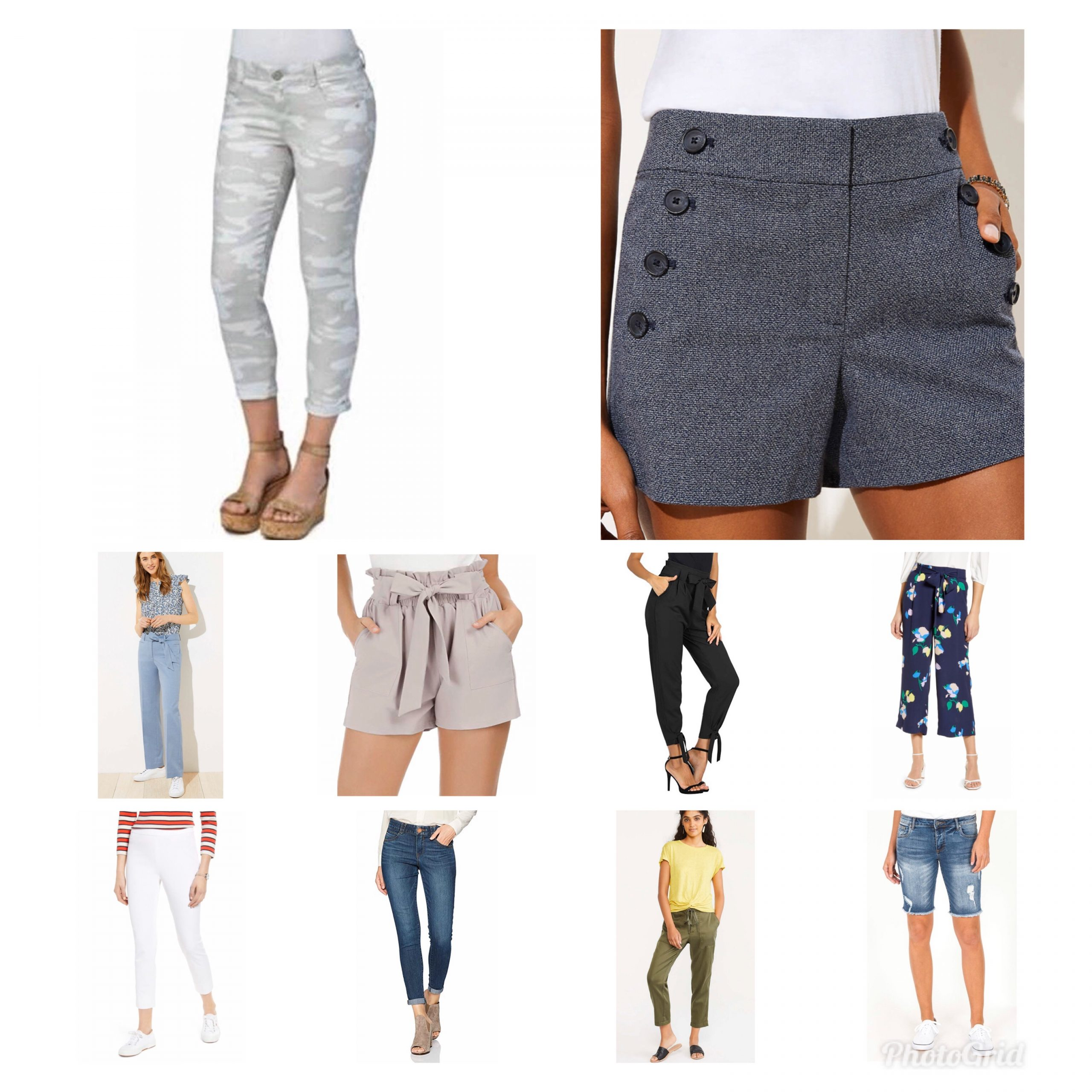 Pants and Shorts for Spring by BB