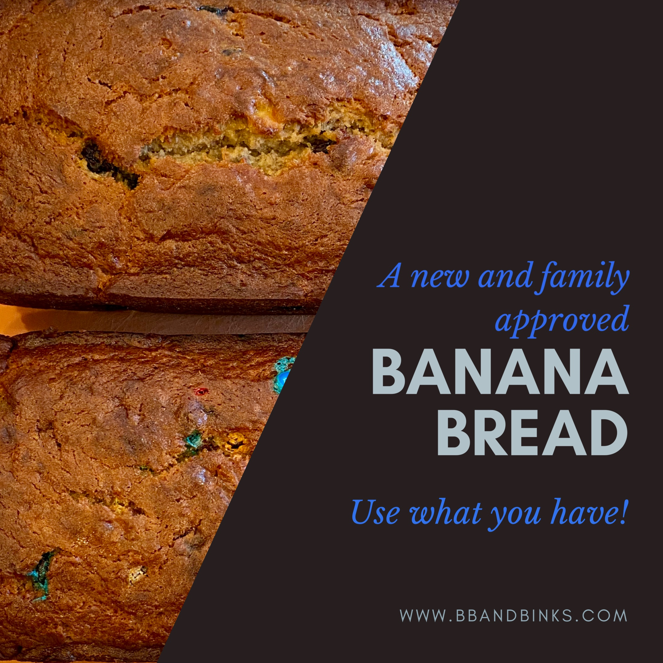 A New Favorite Banana Bread Recipe (Family Approved) by BB