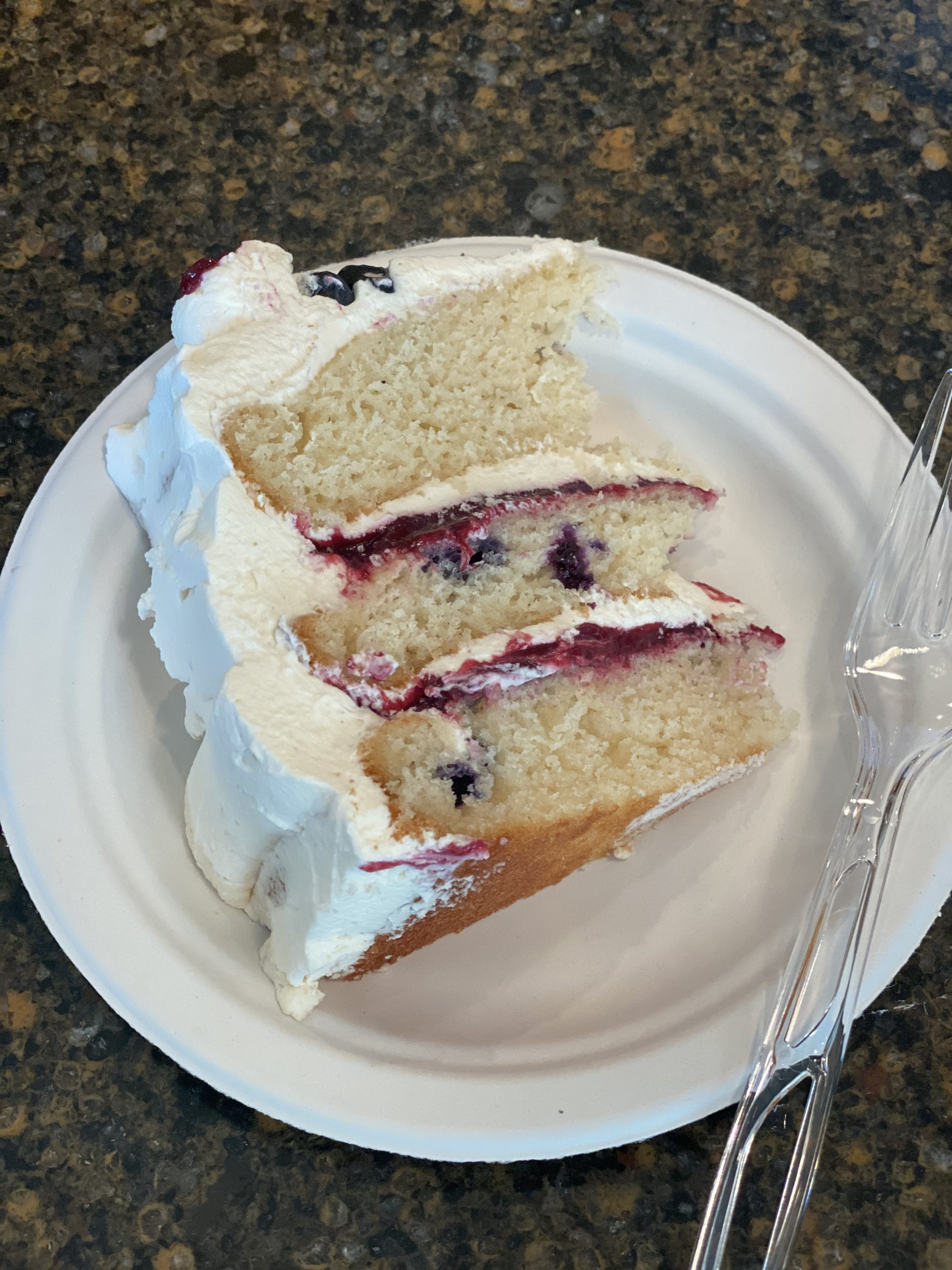 Amazing Mascarpone Berry Cake by BB