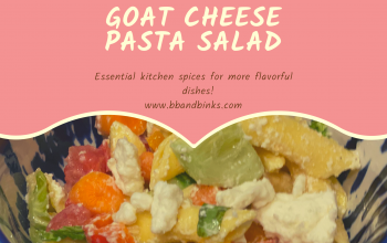 ADD In Goat Cheese Pasta Salad by BB