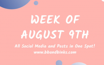 Week of August 9th