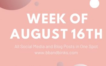 Week of August 16th