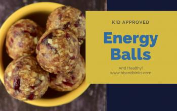 Energy Balls~a healthy snack