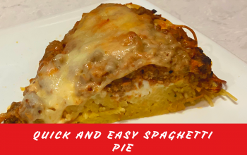 Quick and Easy Spaghetti Pie by BB