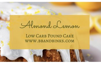 Almond lemon pound cake- low carb by Binks