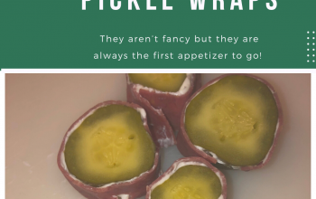 Pickle Wraps-The best appetizer ever!