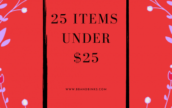 25 Top Items Under $25
