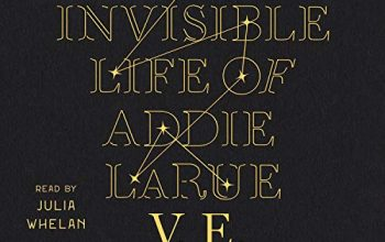 February Bookclub-The Invisible Life of Addie LaRue by V. E. Schwab