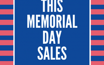 Best Memorial Day Sales~All in One Place